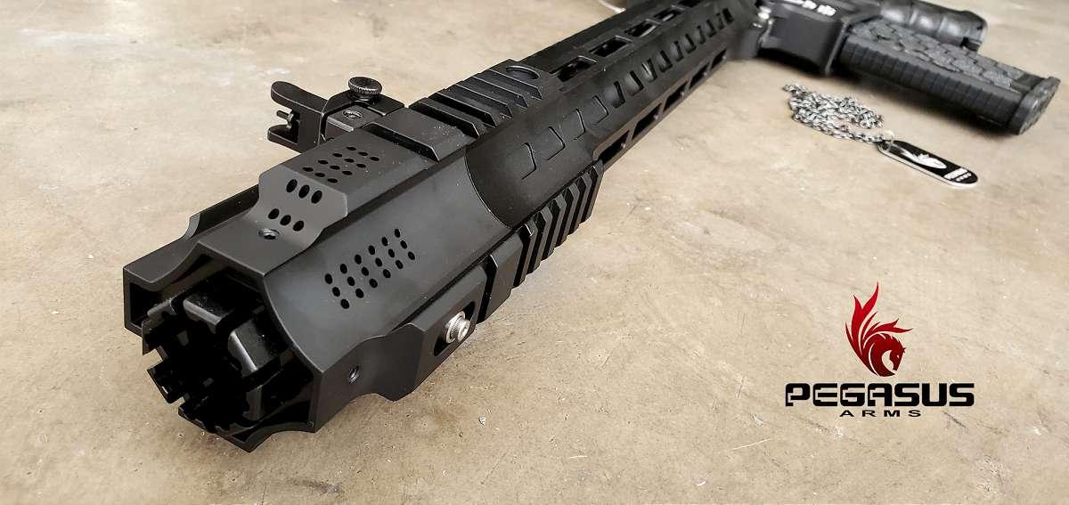 AR15 pistol cheek rest sling plate stock adapter Buffer Tube